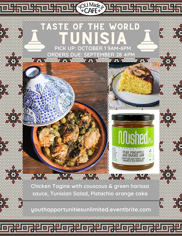 Taste of the World: Tunisia image