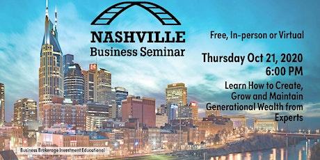 Business Bridges Seminar - October tickets