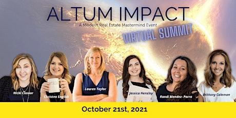 Altum Impact: Virtual Real Agent Mastermind tickets