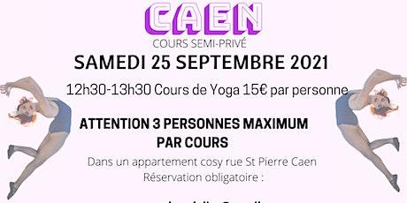 Cours SEMI-PRIVÉ De Yoga À CAEN billets