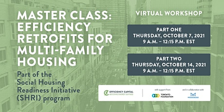 Master Class: Efficiency Retrofits for Multi-Family Housing tickets