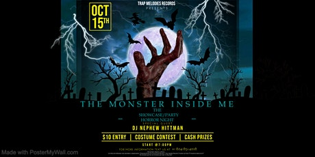 THE MONSTER INSIDE ME tickets