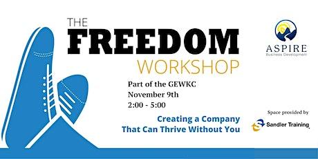 Freedom Workshop - GEWKC Event tickets