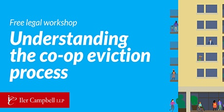 Free legal workshop: Understanding the co-op eviction process tickets