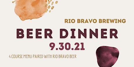 Rio Bravo Beer Dinner tickets