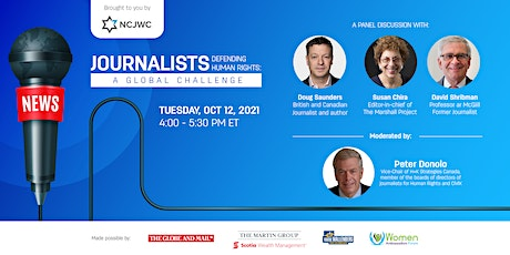 Journalists Defending Human Rights: a Global Challenge tickets