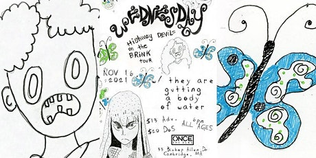 Wednesday w/ they are gutting a body of water, Squitch tickets