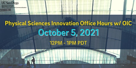 Physical Sciences Innovation Office Hours w/ OIC tickets