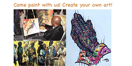 Come paint with us! Create your own art! tickets