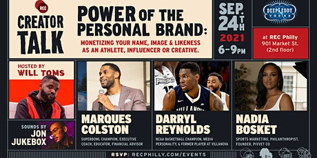 *In-Person* Creator Talk: Power of the Personal Brand tickets