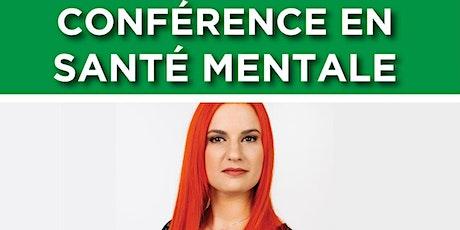 Conférence santé mentale Mardi le 5 octobre : De décrocheuse à docteure billets