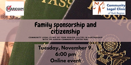 Immigration- Family sponsorship and citizenship tickets