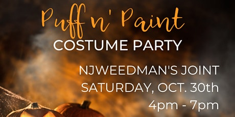 Puff n' Paint Costume Party tickets