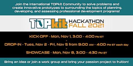 TOPkit Hackathon Fall 2021 tickets