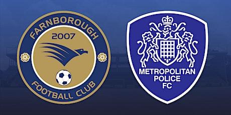 Farnborough vs Metropolitan Police tickets