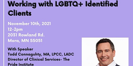 Lunch and Learn- Working with LGBTQ+ identified Clients tickets