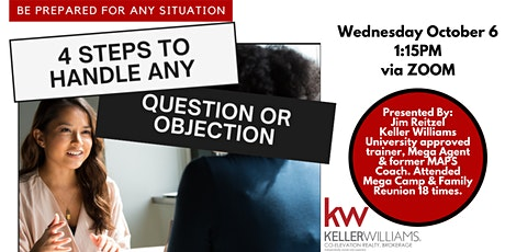 Be Prepared for Any Situation: 4 Steps to Handle Any Question or Objection biglietti
