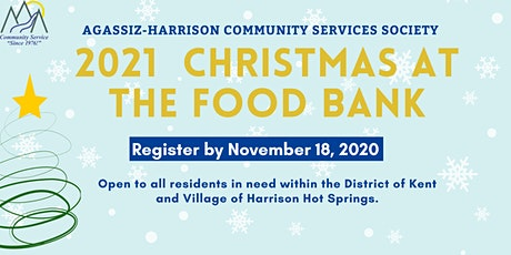 2021 Christmas at the Food Bank (Agassiz-Harrison) tickets