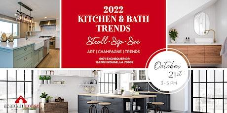 2022 Kitchen & Bath Trends tickets