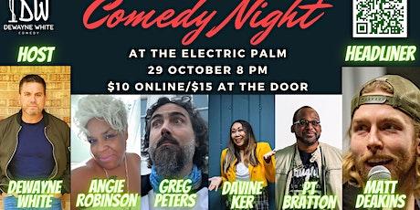 Comedy Night starring Matt Deakins tickets