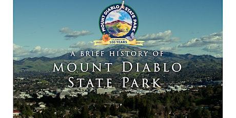 Mount Diablo State Park 100th Anniversary Film Premiere tickets