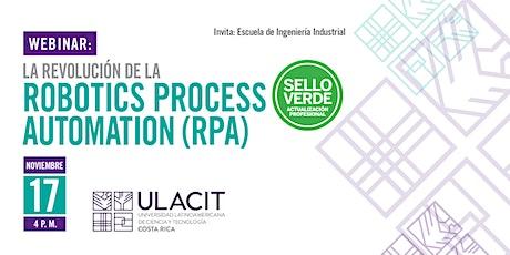 Sello Verde: La revolución de la robotics process automation (RPA) tickets