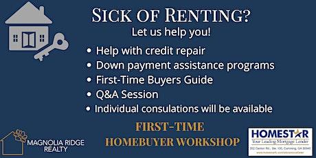 First-Time Homebuyer Workshop tickets