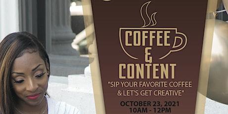 Coffee & Content Workshop tickets