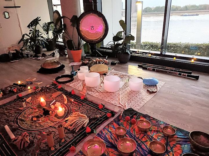 Sound Healing Shamanic Journey ~ Rahanni Celestial Healing infused image