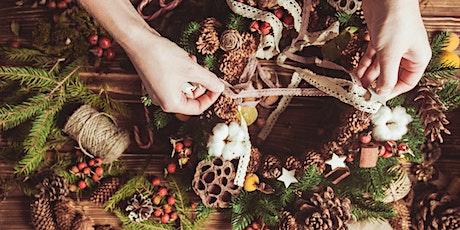 Wreaths & Wine- Wreath Making Class tickets