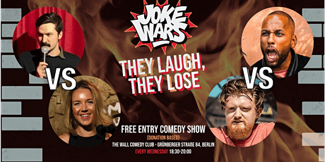 FREE STAND-UP COMEDY Show in English -  After Work - JOKE WARS #20 tickets
