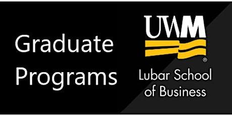 UWM - Lubar School of Business Graduate Programs Information Session tickets