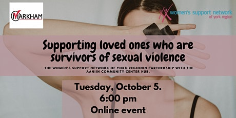 Supporting loved ones who are survivors of sexual violence tickets