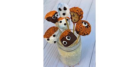 ALL KIDS COOKING CLASS: HALLOWEEN Cookie Dough Pops & Apple Monsters tickets