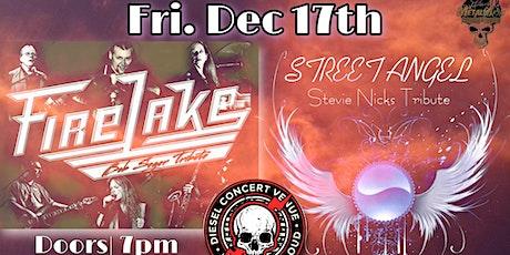 Fire Lake (Bob Seger tribute) & Street Angel (Stevie Nicks tribute) tickets