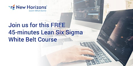 FREE Lean Six Sigma white belt with certification tickets