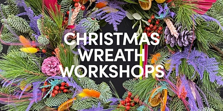 The Flower Plant Christmas wreath workshop tickets