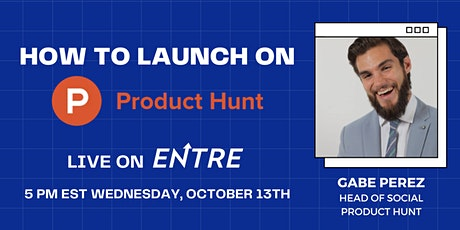 How To Launch on Product Hunt tickets