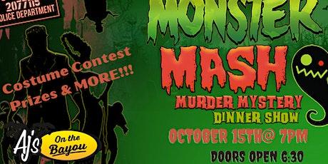 HALLOWEEN murder mystery  at AJ's on the Bayou tickets