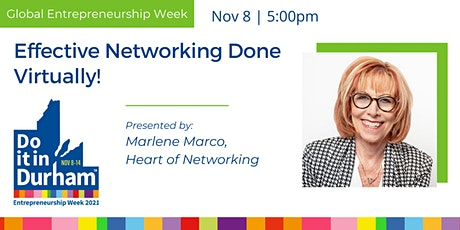 Effective Networking Done Virtually! tickets