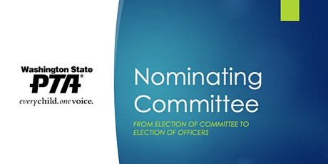 Nominating Committee tickets