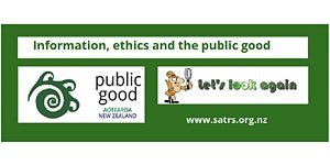 Information, ethics and the public good. Who can we...