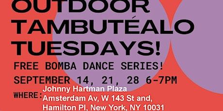 FREE Outdoor Bomba Dance Classes in Johnny Hartman Plaza tickets