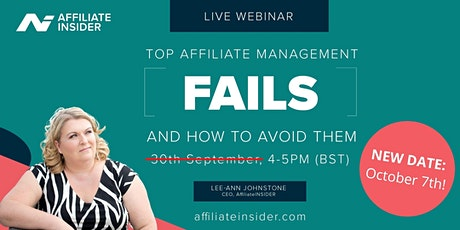 Top Affiliate Management Fails and How to Avoid Them tickets