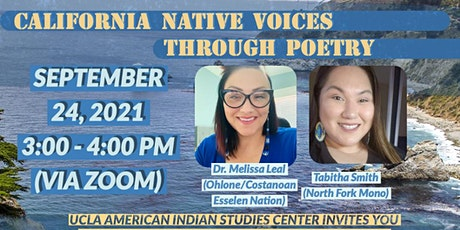 California Native Voices Through Poetry Event tickets