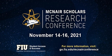 2021 FIU McNair Scholars Research Conference tickets