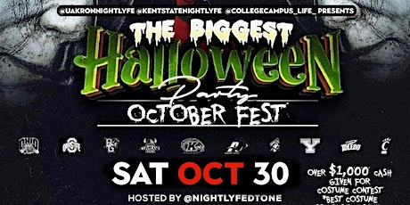 THE BIGGEST HALLOWEEN PARTY DOWNTOWN AKRON tickets