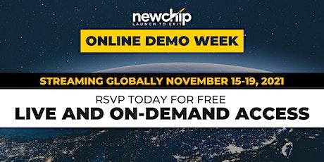 Newchip's November 2021 Online Demo Week tickets