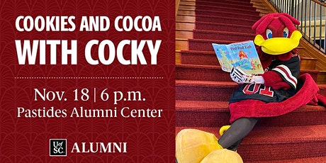 Cookies and Cocoa with Cocky tickets