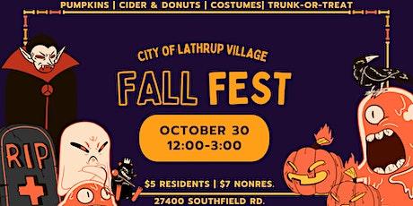 Fall Fest tickets